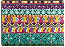 rutschfeste dekorative Teppich Happy Fußmatten