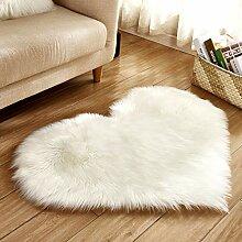Rutschfeste fluffy teppiche künstliche plüsch