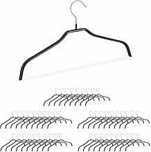 Rutschfeste Kleiderbügel, 50er Set, Hemdenbügel,