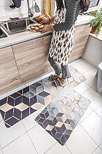 rutschfeste Küchenteppich für Küche, Flur,