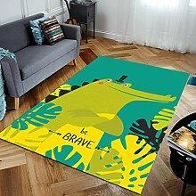 rutschfeste Wohnzimmer Teppich Cartoon Anime