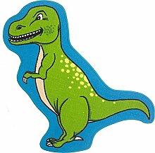Rutschfester Kinder-Spielteppich/Teppich, Motiv Dinosaurier T-Rex, 86cm x 110cm