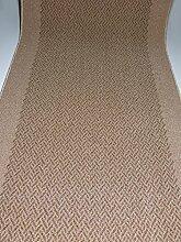 Rutschfester Teppich Läufer Meterware waschbar Beige lfm. 24.90 EUR Breite 80 x 380 cm