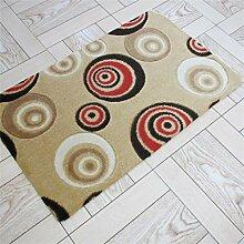Rutschfester Teppich Wasseraufnahme Küche Bad Tür Türmatten Umweltschutz Matten ( farbe : #7 , größe : 50*80cm )