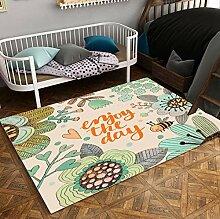 Rutschfester Teppich Wohnzimmer Kinderzimmer