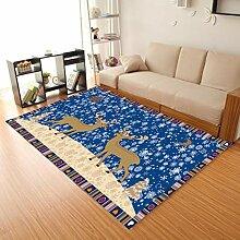 Rutschfester Teppich Wohnzimmer Personalisierte