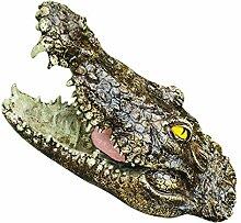 Rvest Krokodil Teichdeko Teich