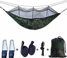 Rwdacfs Doppelhängematte, Campinghängematte mit