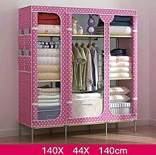 RXL-Kleidergarderobe Falten Einfache Garderobe