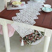 RXL-Tischläufer Hohle Spitze Tischdecke
