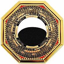 RXQCAOXIA Yin Yang Bagua Spiegel-Kompass Konvexer