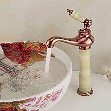 RY-Kaltes Wasser Waschbecken - breiten goldenen Messing tippen