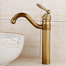 RY-Tippen Sie auf die Badewanne Waschtisch Armatur Waschbecken antik-kupfer Heiß und Kalt wie arc Kupfer