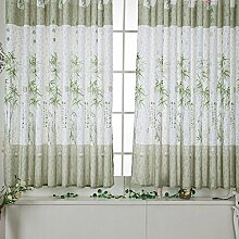 ryadia (TM) tonseebamboo Calico-fertige Produkt Fenster Display Reinigungstuch curtainbulk Kauf