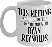 Ryan Reynolds Becher für Mitarbeiter Büro