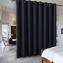 RYB HOME Vorhang Blickdicht Ösen - Wohnung