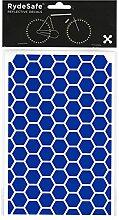 RydeSafe Hexagon Kit Large (Blau) - Reflektierende