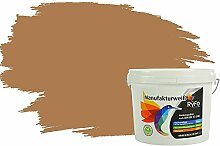 RyFo Colors Bunte Wandfarbe Manufakturweiß Nougat