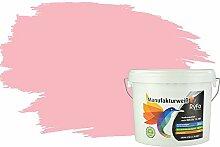 RyFo Colors Bunte Wandfarbe Manufakturweiß Rosa
