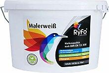 RyFo Colors Malerweiß 10l (Größe wählbar) -