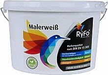 RyFo Colors Malerweiß 12,5l (Größe wählbar) -