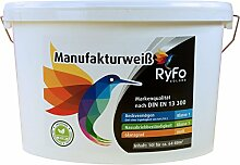 RyFo Colors Manufakturweiß 10l (Größe wählbar)