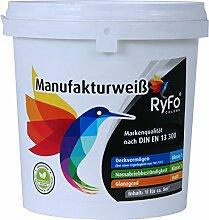 RyFo Colors Manufakturweiß 1l (Größe wählbar)