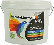 RyFo Colors Manufakturweiß 3l (Größe wählbar)