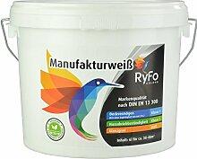 RyFo Colors Manufakturweiß 6l (Größe wählbar)