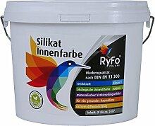 RyFo Colors Silikat Innenfarbe 3l - Mineral-Farbe,
