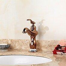 RYL Waschtischarmatur Wasserhahn Spültisch Küche Waschtisch Waschenbecken Bad Alle Bronze Antik Waschbecken Wasserhahn Bad Waschbecken Mischbatterien