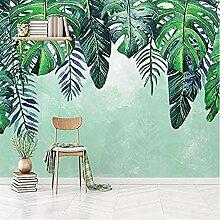 rylryl Nordischer handgemalter tropischer Baum der