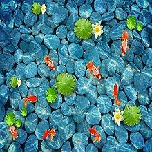 rylryl PVC Wasserdichte 3D Bodenfliesen Tapeten