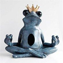 RYOG Skulpturen Europäische Frosch Statue Tisch