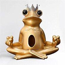RYOG Statuen Dekoartikel Europäischer Frosch