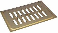 Rytons Building Products hm96babg Messing eloxiert Aluminium verstellbar Hit und Miss Ventilator, Gold