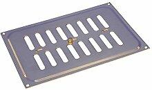 Rytons Building Products hm96brbg massiv poliert Messing verstellbar Hit und Miss Ventilator, Gold