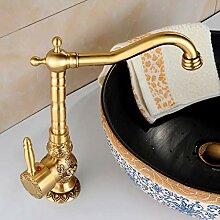RYWDBF Einhand-Badarmatur Waschbecken Kranhahn