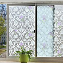 RYWS Selbstklebend Gefrostet Fenster