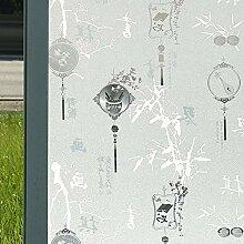 RYWS Statische Fenster Glas-Sticker,Badezimmer