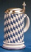 RZB Zimmermann Bierseidel Bier-Krug Galeriekrug