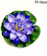 RZBZBRY 10 / 18Cm künstliche Lotus Seerose