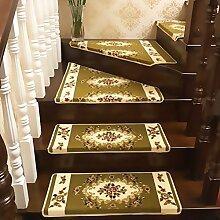 Rziioo Treppenabsatz Matten Teppich Floral Design