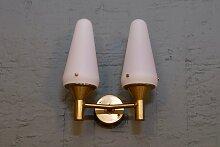 S-1554 Wandlampe von Hans-Agne Jakobsson, 1950er