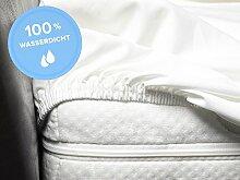 S.Ariba Inkontinenz Spannbettlaken Matratzenschoner mit Rundumgummi für Kinder und Erwachsene (90x200cm)