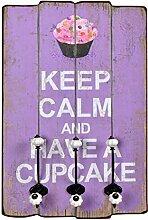 s-ideen 'Wandgarderobe Have a Cupcake in Stil