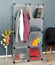 s-ideen Kleiderschrank Kinderschrank Garderobe