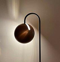 s.LUCE Ball Stehleuchte schwarzer Marmor 170cm