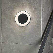 s.LUCE Hole LED-Aussenleuchte Ø 20cm Wand & Decke