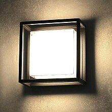 s.LUCE LED-Aussenleuchte Cube 20cm Wand oder Decke